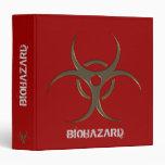 "Organizador del Biohazard - 1,5"" carpeta"