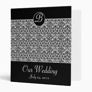 Organizador del boda, carpeta del planeamiento y l