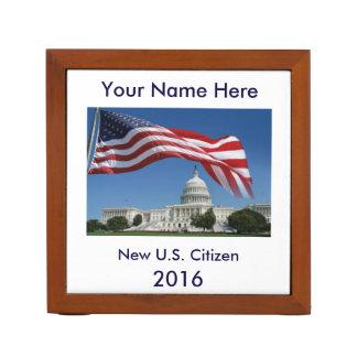 Organizador del escritorio para el nuevo ciudadano portalápices