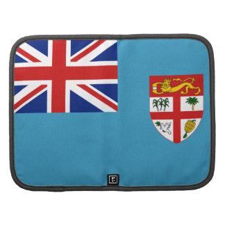 Organizador del folio de la bandera de Fiji