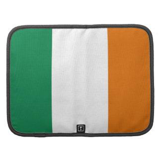 Organizador del folio de la bandera de Irlanda