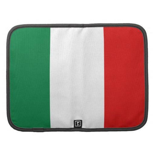 Organizador del folio de la bandera de Italia