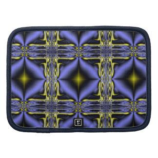 Organizador del modelo del fractal del resplandor