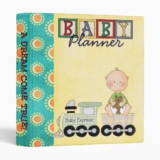 organizador del planificador del bebé