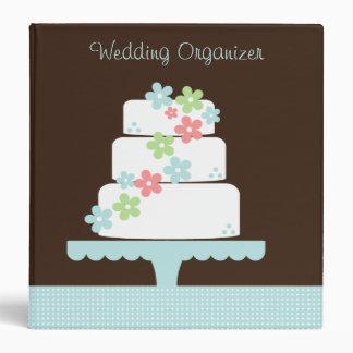 Organizador dulce del boda de la torta