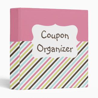 """Organizador en colores pastel de la cupón de la carpeta 1"""""""