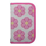 Organizador rosado de Smartphone de la flor