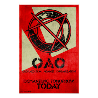 Organization Against Organization Poster