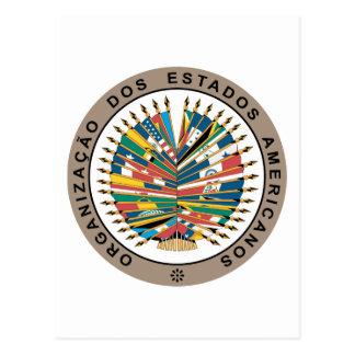 Organization of American States, Portuguese Post Card