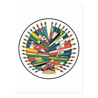 Organization of American States Post Card