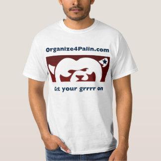 Organize4Palin.com Basic T-shirt