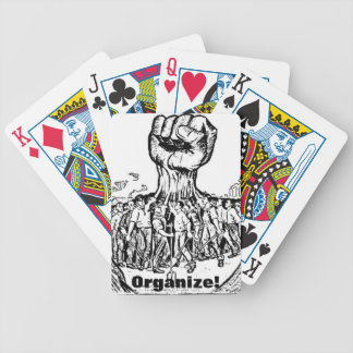 organize! bicycle playing cards