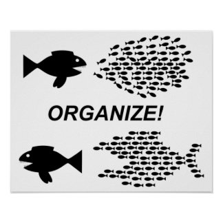Organize poster