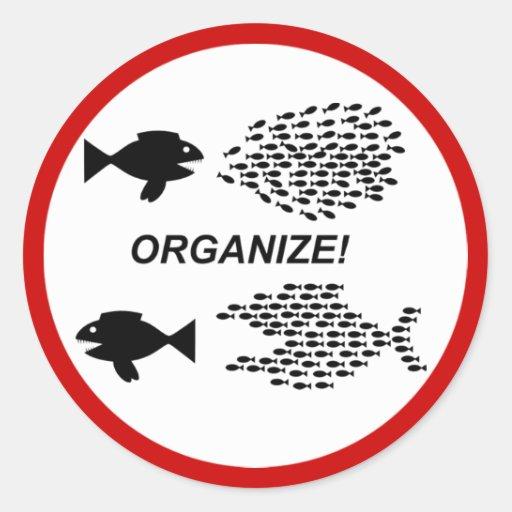 Organize sticker
