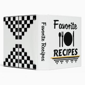 Organize Your Favorite Recipes Binder