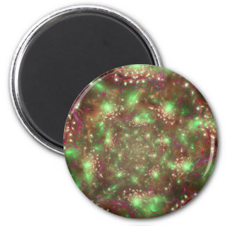 Organized Chaos 2 Inch Round Magnet