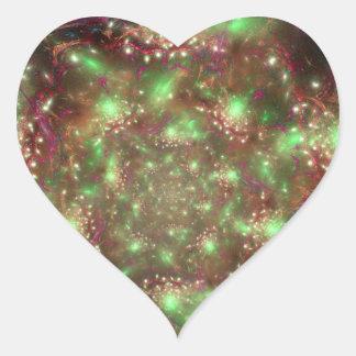 Organized Chaos Heart Sticker