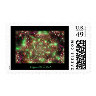 Organized Chaos Postage Stamps
