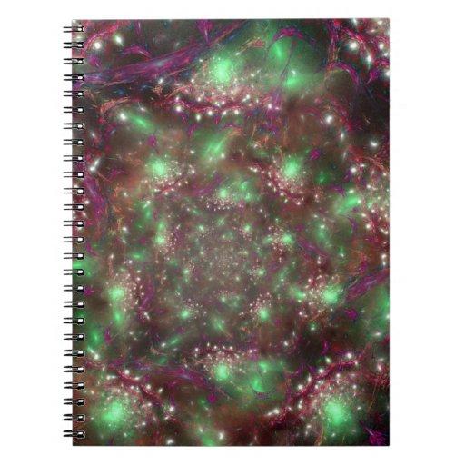 Organized Chaos Spiral Notebook