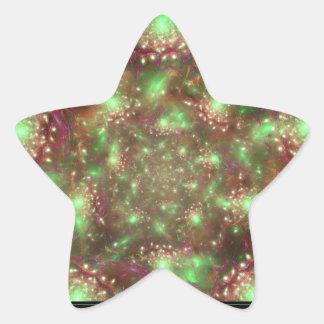 Organized Chaos Star Sticker