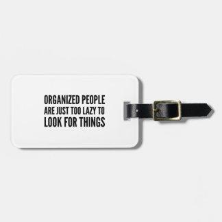Organized People Bag Tag