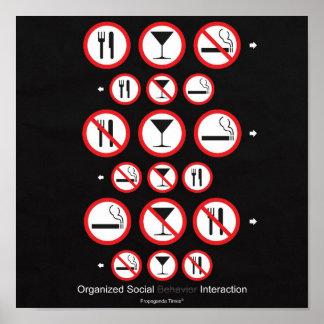 Organized Social Interaction Poster