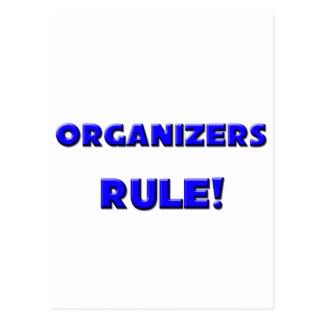 Organizers Rule Postcards