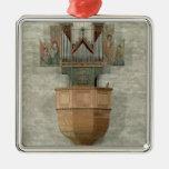 Órgano, 1390 ornaments para arbol de navidad