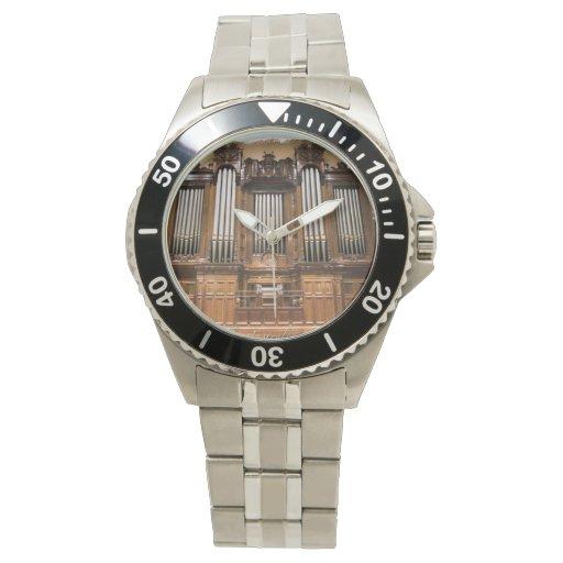 Órgano de ayuntamiento de Melbourne Relojes De Pulsera