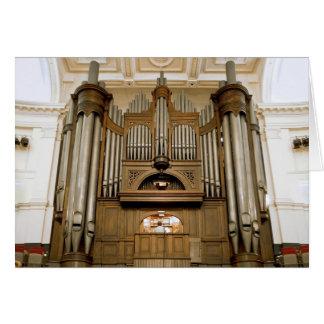 Órgano de ayuntamiento de Wellington Tarjeton