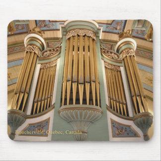 Órgano de Boucherville Alfombrilla De Raton