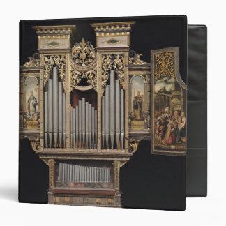 """Órgano de coro con los paneles abiertos carpeta 1 1/2"""""""