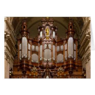 Órgano de la catedral, Berlín Felicitación