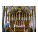 Órgano de la catedral de Albi Postales
