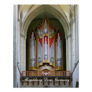 Órgano de la catedral de Magdeburgo Impresiones Fotográficas