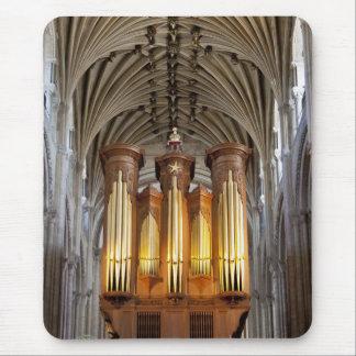 Órgano de la catedral de Norwich y mousepad del Alfombrillas De Ratón
