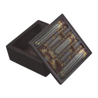 Órgano de la iglesia cajas de recuerdo de calidad