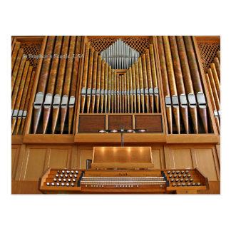Órgano de la iglesia de St Stephen, Seattle, Postal