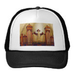 Órgano de la iglesia gorras de camionero
