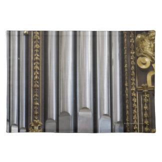 Órgano de la iglesia mantel