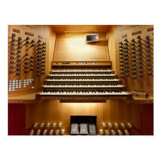 Órgano de Rieger, Shangai Tarjeta Postal