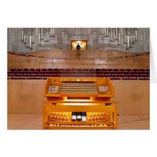 Órgano de Shangai Tarjeta De Felicitación