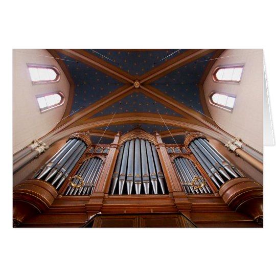 Órgano de Wiesbaden Marktkirche Tarjeta Pequeña