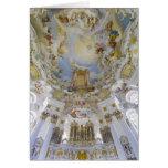 Órgano de Wieskirche Tarjeta