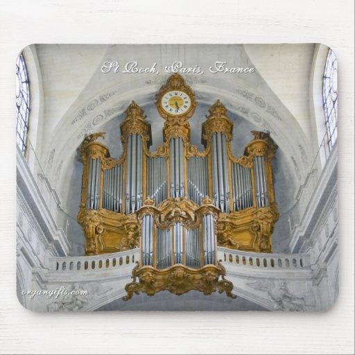 Órgano del St Roch Alfombrilla De Ratón