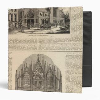 """Órgano del tabernáculo de Brooklyn gran construido Carpeta 1 1/2"""""""