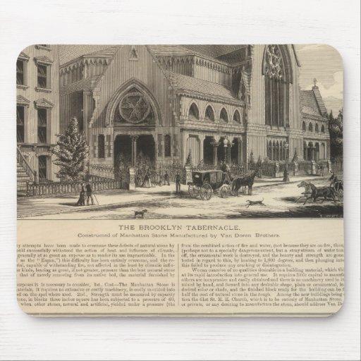 Órgano del tabernáculo de Brooklyn gran construido Tapete De Ratones