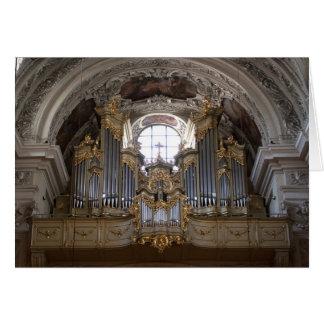 Órgano Dominikanerkirche Tarjeta