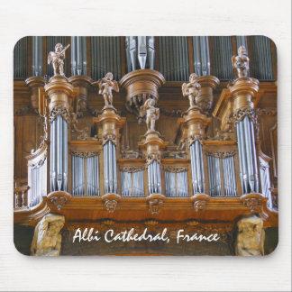 Órgano en la catedral de Albi, Francia Mousepads