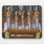 Órgano en la catedral de Albi, Francia Tapete De Ratón